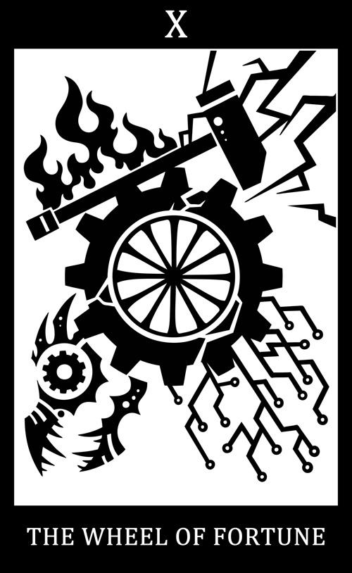 X - 命运之轮:Mekhane/破碎之神